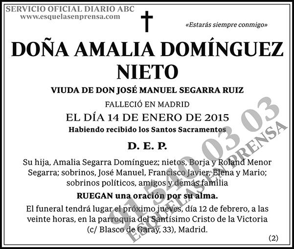 Amalia Domínguez Nieto